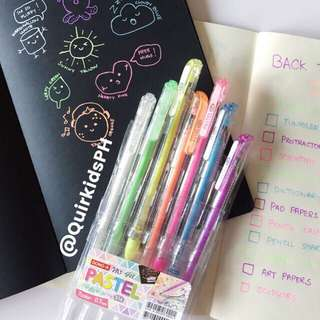 DONG A My Gel Pastel Pen Set. 7 pcs. ❤️ (Can be sold as SET or SINGLE)