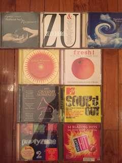 9 Original CD Albums