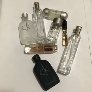 Miniature Perfume Bottles for Collection