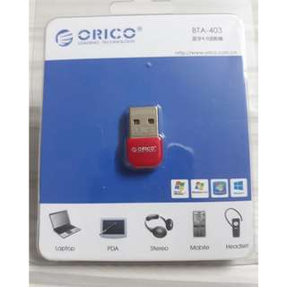 ORICO Wireless USB Bluetooth 4.0 Dongle - Red