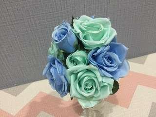 Mawar Biru Hijau