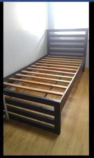 Wood Single Bed Frame