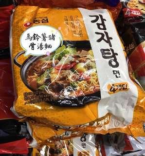 🚚 韓國馬鈴薯豬骨湯麵