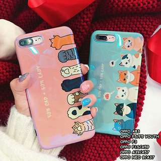 BLURAY CAT CASE For Oppo A83, F5, F3, F1S, A39, Neo 9