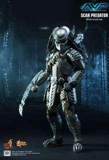 (Last Piece) *MISB* Hot Toys - Scar Predator - Alien vs predator