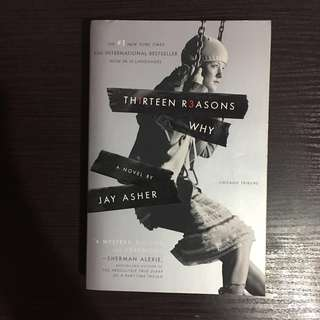 Thirteen (13) Reasons Why (original cover)