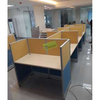 93pcs FULL FABRIC OFFICE PARTITION--KHOMI