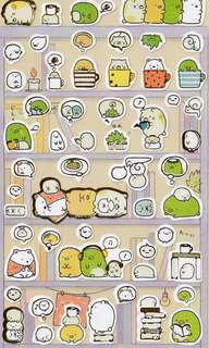 🚚 Sumikko Gurashi Stickers #1