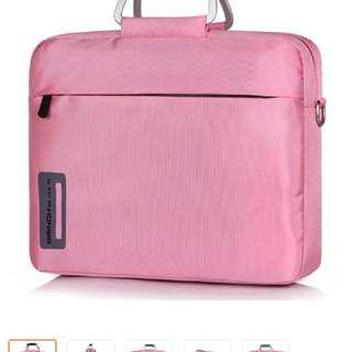 Pink laptop bag 14-15 inches