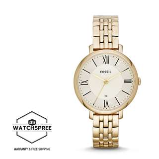 FREE DELIVERY *FOSSIL GENUINE* [ES3434] 100% Authentic with 1 Year Warranty!