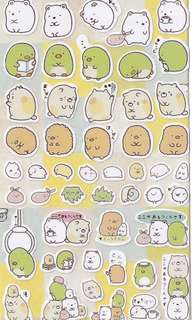 🚚 Sumikko Gurashi Stickers #2