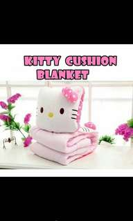 2 in 1 Hello Kitty blanket