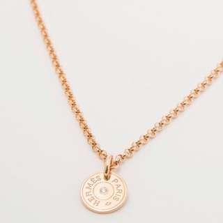 🆕 Hermes gambade pendant 玫瑰金鑽石項鍊