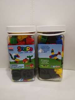160pc Snapo Building Blocks