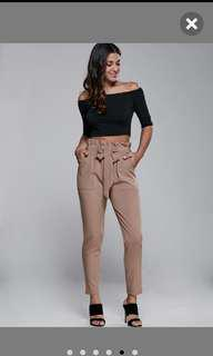 ZAFUL High Waisted Narrow Pants