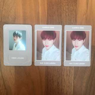 [WTT] Wanna one undivided lean on me pc and magnet