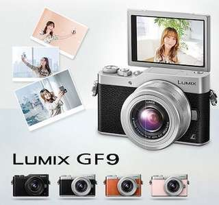 Panasonic Lumix GF9 with 12-32mm Lens