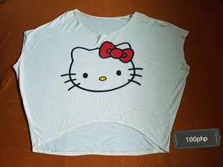 Hello kitty crop top