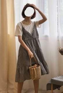 Layered mori dress