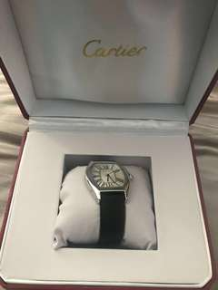AUTHENTIC USED Cartier Watch Leather Strap