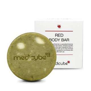 $19.90 Medicube Red Body Soap Cleansing Bar 100g