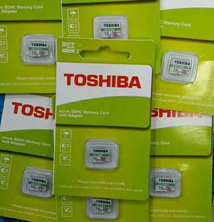 Memori toshiba 16 GB