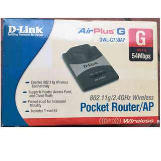 D-Link Pocket Router/AP