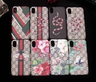 PO gucci iPhone cases