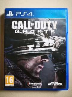 🚚 PS4 CALL OF DUTY - GHOSTS