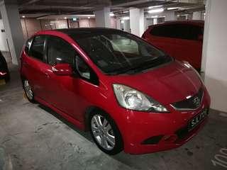 Honda Jazz 1.5 auto for rent
