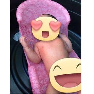 Safety 1st Bath Cradle Pink