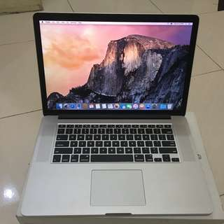 Macbook Pro 15 Retina Mid 2015 Fullset ex iBox