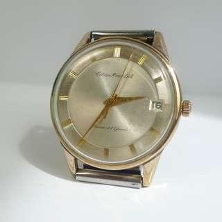 Vintage Citizen Homer Date Diashock 17 Jewels Hand-Winding Watch