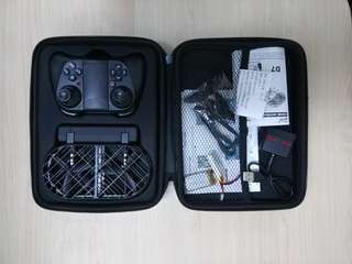 手制控視頻拍攝全保護殼無人機