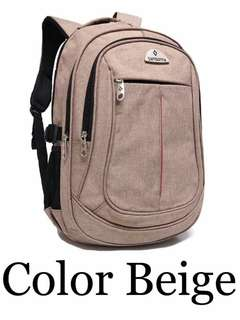 Backpack w/ 4 compartments & laptop case inside