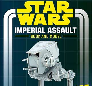 [NEW] Star Wars Imperial Assault Activity Book and Model AT-ST