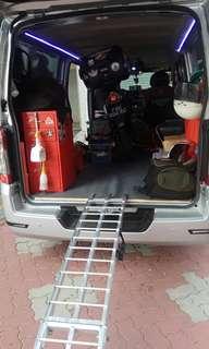 Towing / yamaha lc135 / onsite bike rescue / mobile mechanic