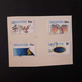 Singapore 1973 stamps