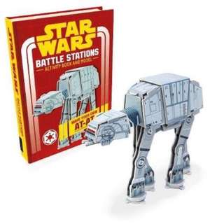 [NEW] Star Wars: Battle Stations Activity Book and Model AT-AT