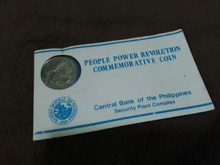 People Power Revolution Commemorative Coin