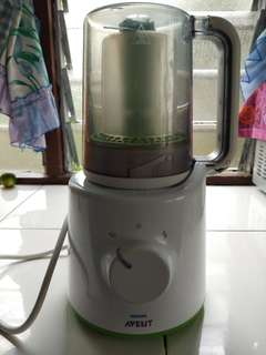 Philips Avent 2 in 1 Steamer & Blender.