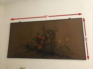 50 years old painting