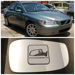 Volvo S60, S80, V70, XC70 side mirror all models and series