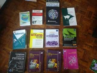 Alevels olevels old guidebooks