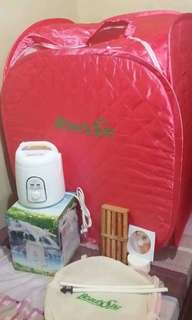 (SOLD) Portable Sauna
