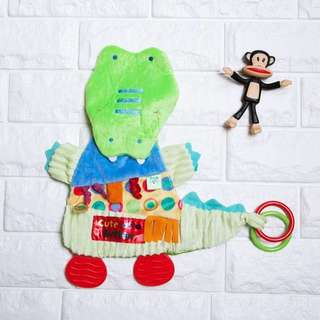 🚚 Instock - Crocodile Sensory Toy