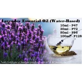 Lavender Essential Water-Based (Organic HYDROLATE)