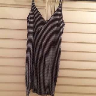 Topshop Striped dress