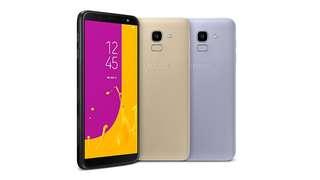 Samsung J6 (Black,Gold,Lavender)