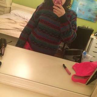 Thrifted sweater